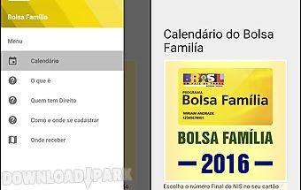 Calendário bolsa família 2016