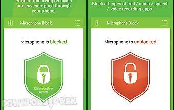 Microphone block -anti malware
