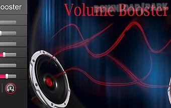 Smart volume booster
