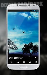 blue sky free live wallpaper