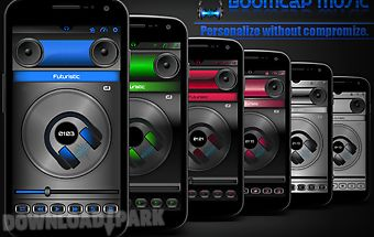 Boomcap music player + flac eq