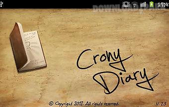 Crony diary lite