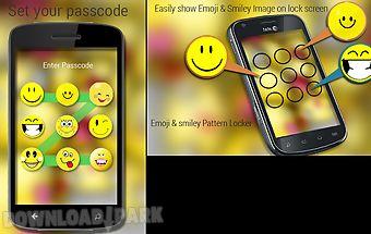 Emoji and smiley lock screen