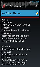 Hillsong lyrics Android Aplicaçõe Baixar grátis em Apk