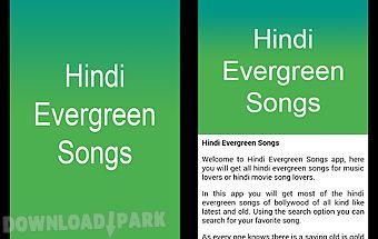 Hindi evergreen songs