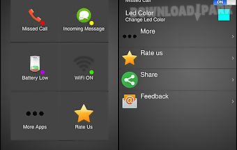 Led notifications manager