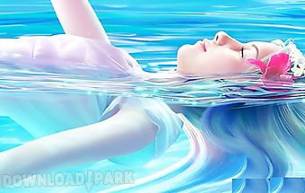 Love water photo frame