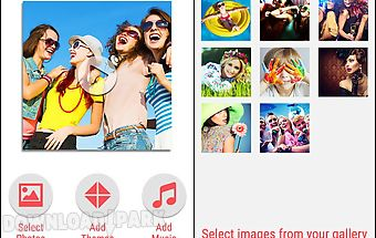 Makemymovie - slide show maker