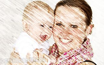 Photo to pencil sketch effects