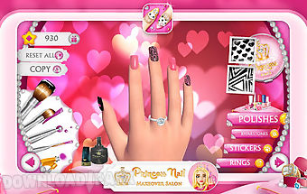 Princess nail makeover salon