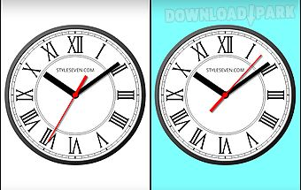 Roman clock live wallpaper-7