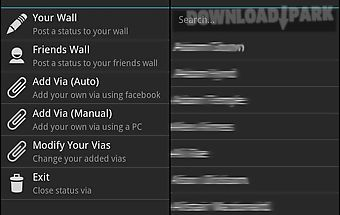 Status via free