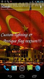 3d turkey flag live wallpaper