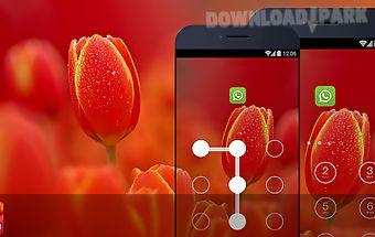 Applock theme - tulip theme