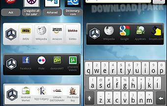 Askeroid mobile search widget