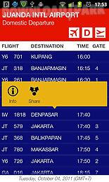 indonesia flightboard