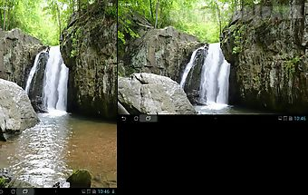 Real water fall live wallpaper