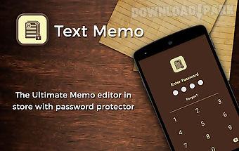 Text memo