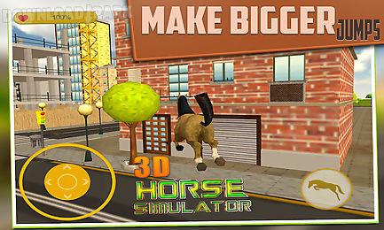 3d horse simulator game