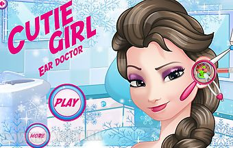 Cutie girl ear doctor