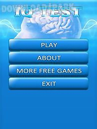 Iq test english Android Game free download in Apk