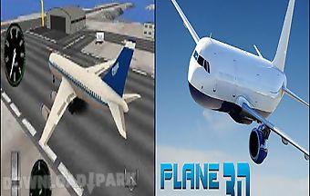 Plane simulatorwith 3d