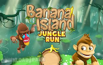 Banana island: jungle run