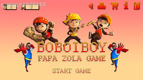 boboiboy papa zola game