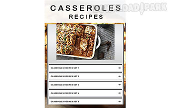 Casseroles recipe