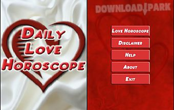 Daily love horoscope by moonglab..