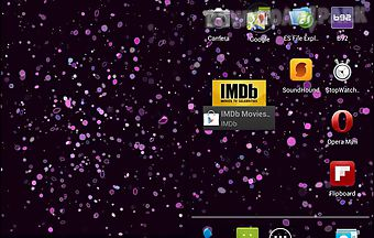Glitter dust 3d live wallpaper