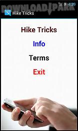 hike tricks