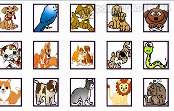 Various pets onet classic game