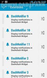 dashnotifier for dashclock