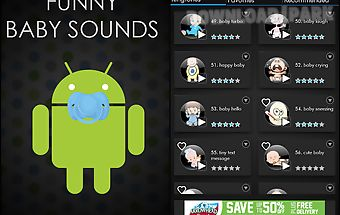Funny baby sounds ringtones