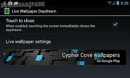 live wallpaper daydream
