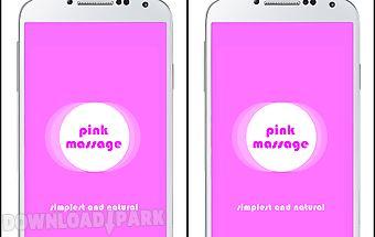 Vibrator massage pink
