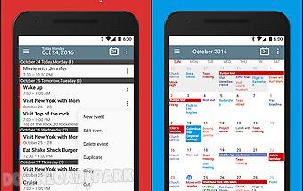Calendar+ schedule planner app