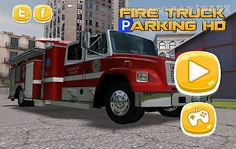 Fire truck parking hd