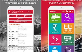 Indian railway irctc pnr app