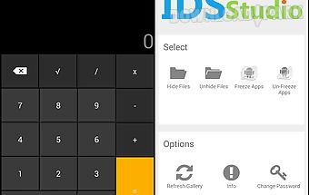 Smart hide calculator