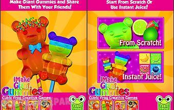 Make gummy bear - candy maker