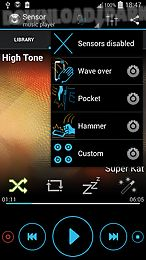sensor music player