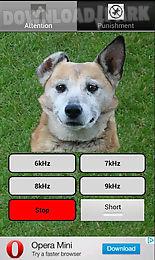 dog whistle - trainer for dog