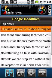 flash news for android