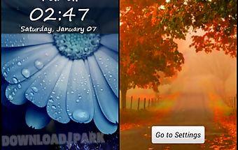 My name lock screen theme