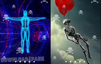 Skeleton live wallpaper