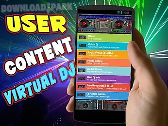 User content for virtual dj Android App free download in Apk