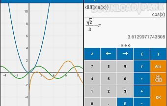 Algeo graphing calculator