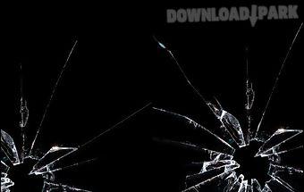 Broken glass screen joke